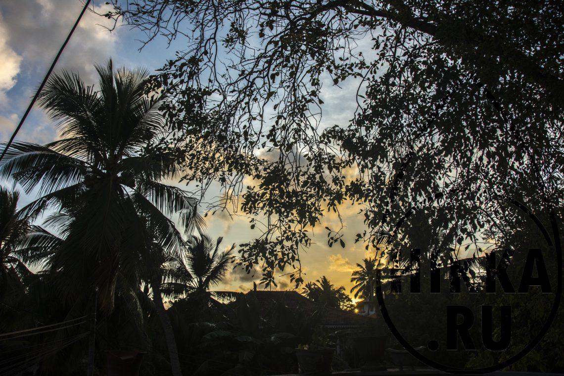 аренда виллы в Хиккадуве 5 спален вид на запад
