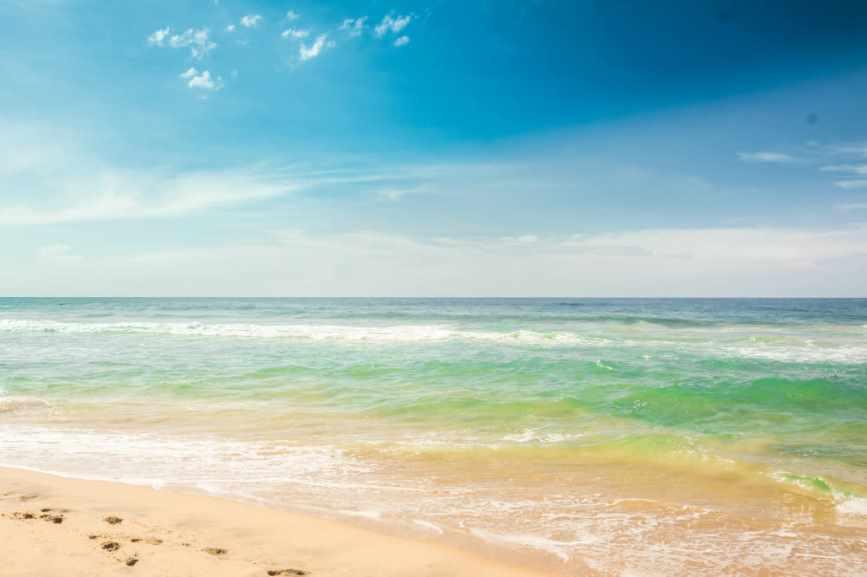пляж в хиккадуве