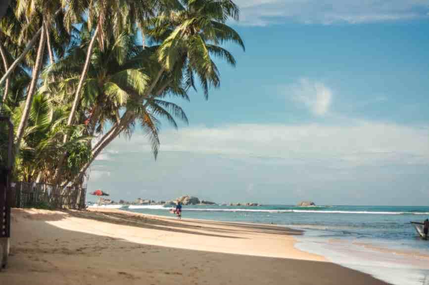 лучший пляж в хиккадуве